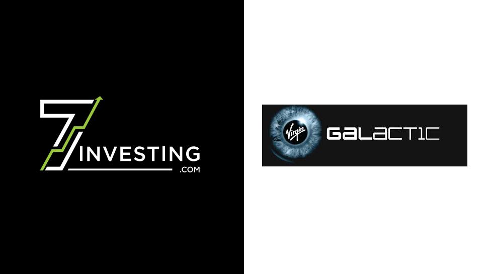7investing logo next to the Virgin Galactic logo.