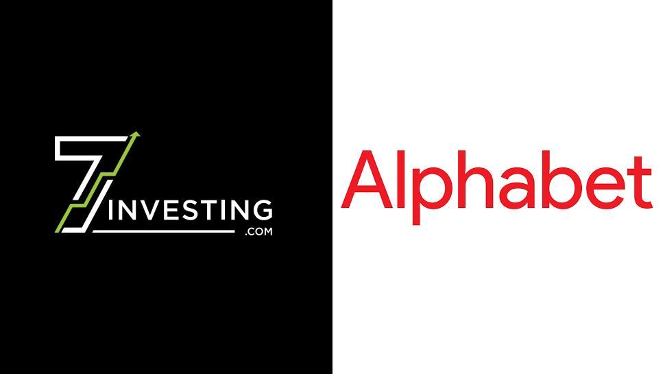7investing logo next to the Alphabet logo.