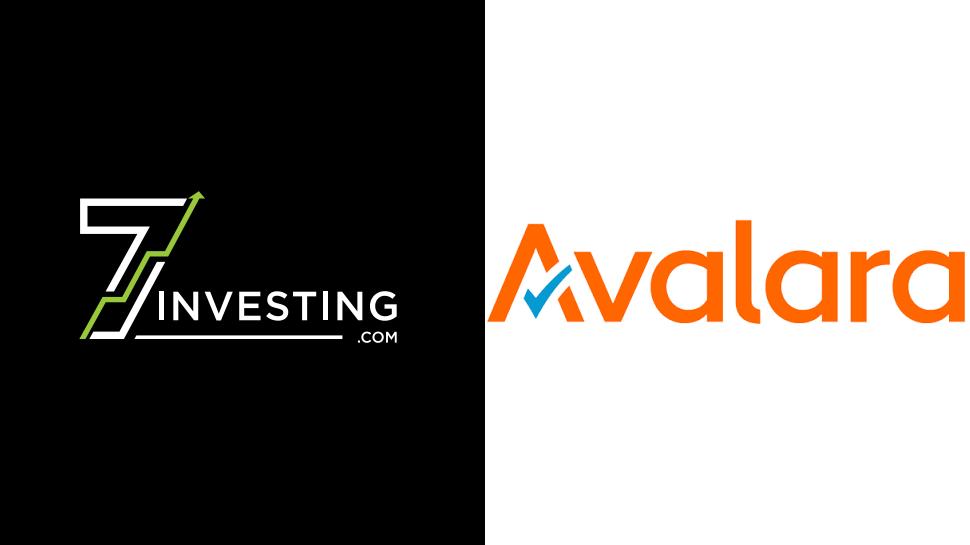 7investing logo next to the Avalara logo.
