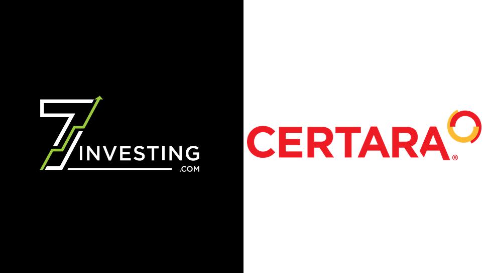 7investing logo next to the Certara logo.