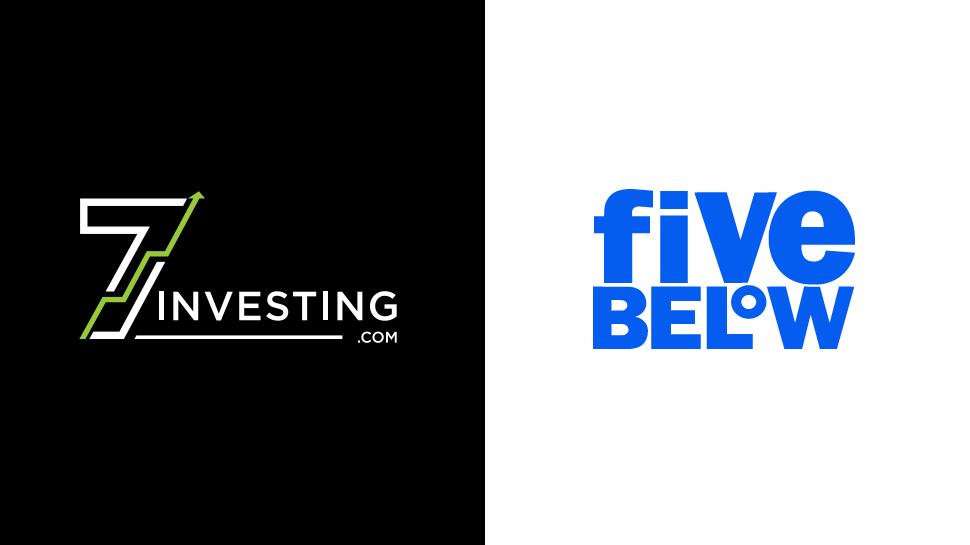 7investing logo next to the Five Below logo.