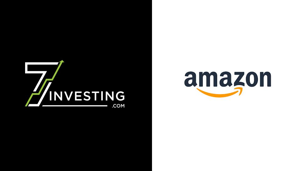 7investing logo next to Amazon logo.