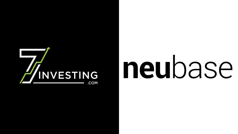7investing logo next to the NeuBase Therapeutics logo.