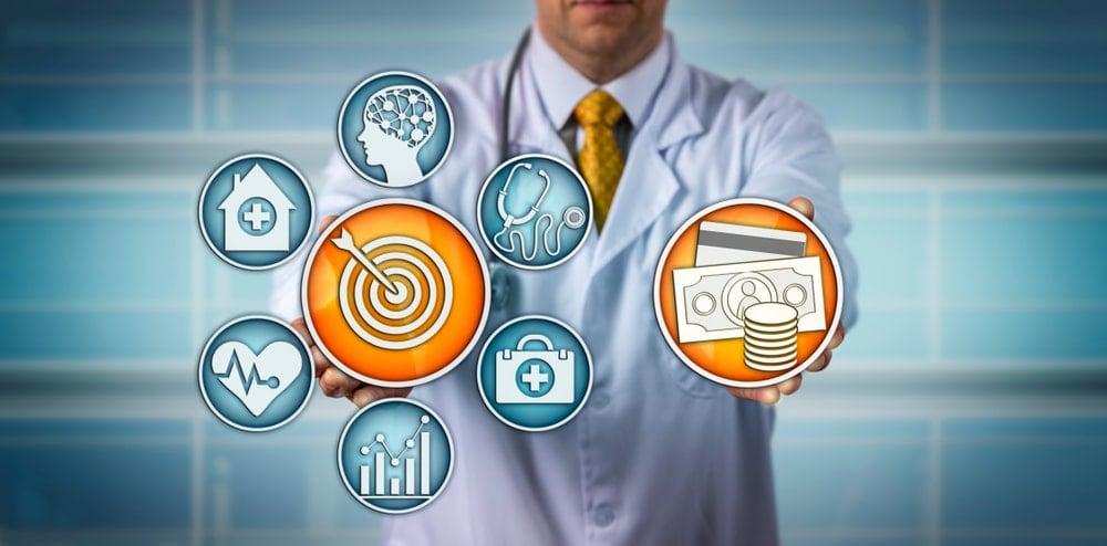 Doctor health care digital concept